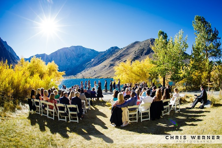 Mammoth Lakes wedding venue.