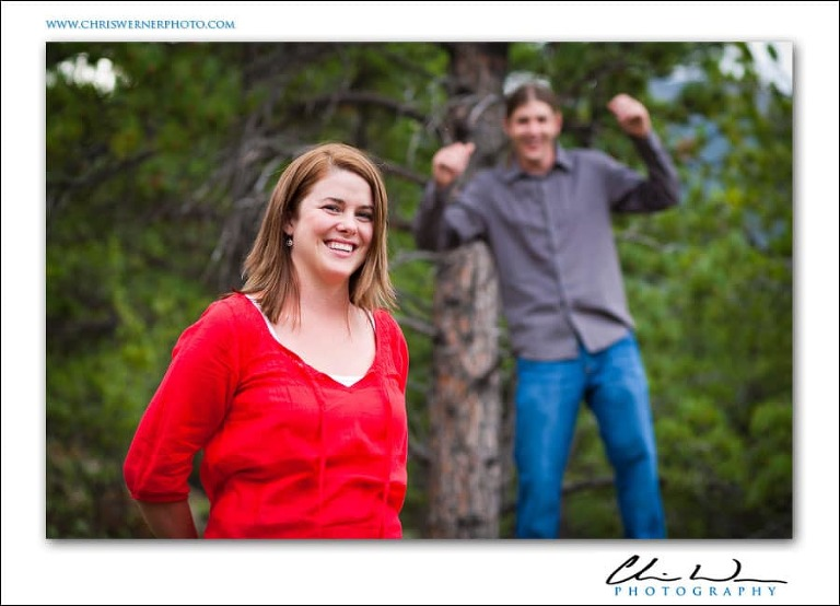 Outdoor Truckee Engagement Photos