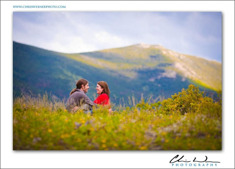 Outdoor Truckee Engagement Photos in Lake Tahoe.