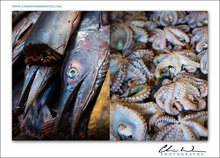 Zanzibar Souk Marketplace photo of seafood.
