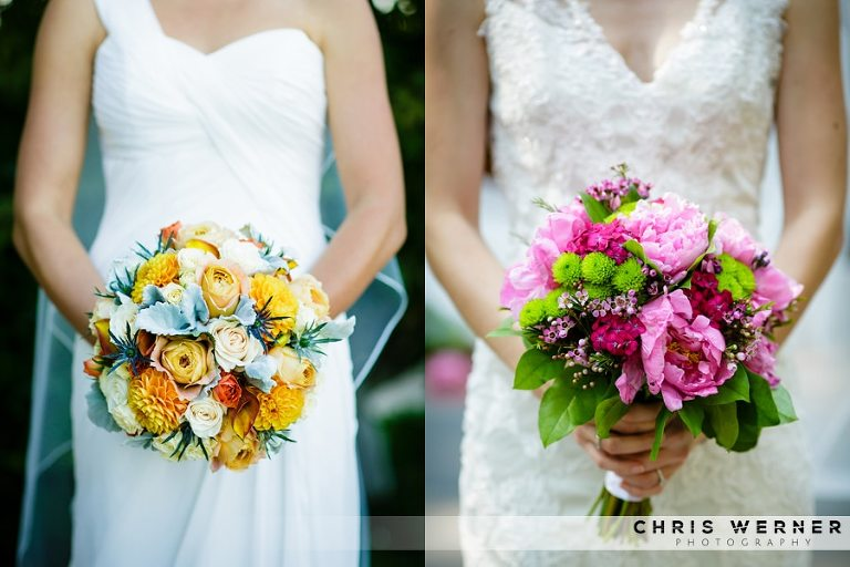 Bridal flower ideas for Lake Tahoe weddings.