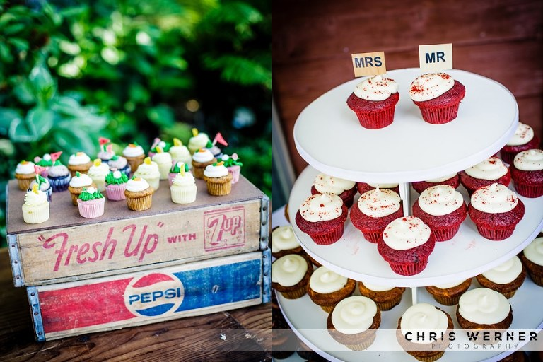 Wedding cupcakes ideas.