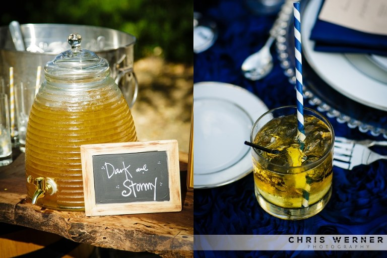 Unique and creative wedding cocktails.
