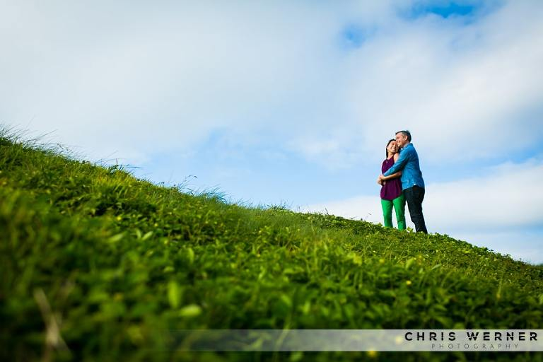 San Francisco Engagement Photos at Crissy Field.