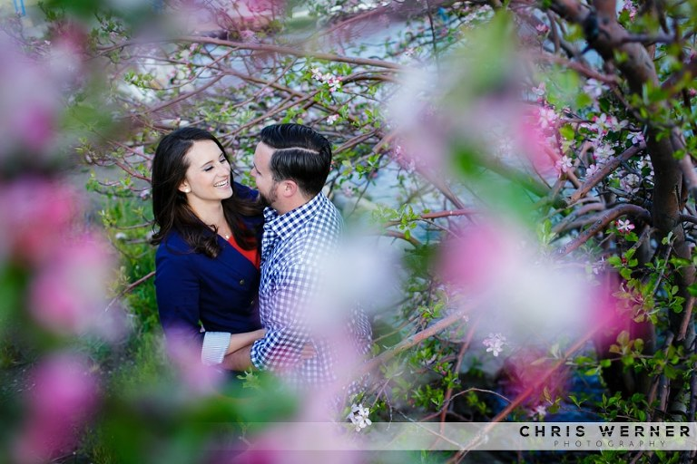 Engagement photos in Truckee, Lake Tahoe.