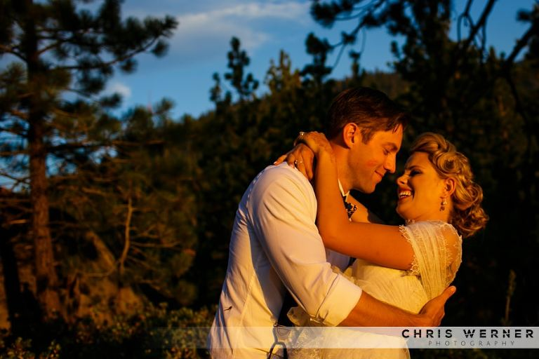 Lake Tahoe wedding photos.