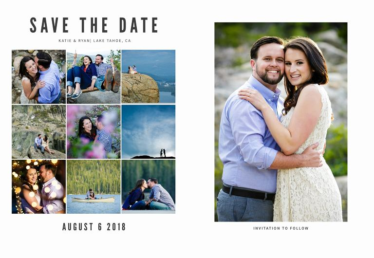 Save the date cards design ideas