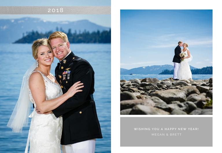 New Year's Cards design from a Lake Tahoe wedding photographer