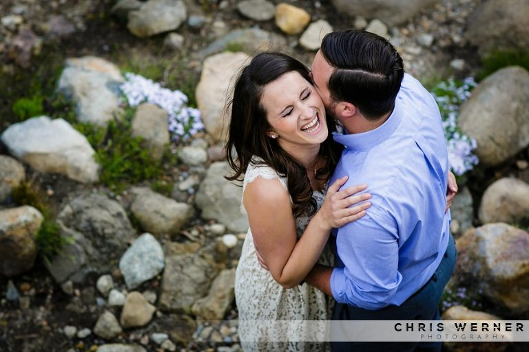 Lake Tahoe engagement photos in Truckee, CA.