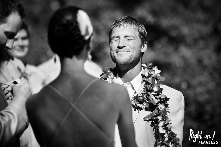 Wedding ceremonies are exciting, joyous events with lots of beautiful facial expressions.