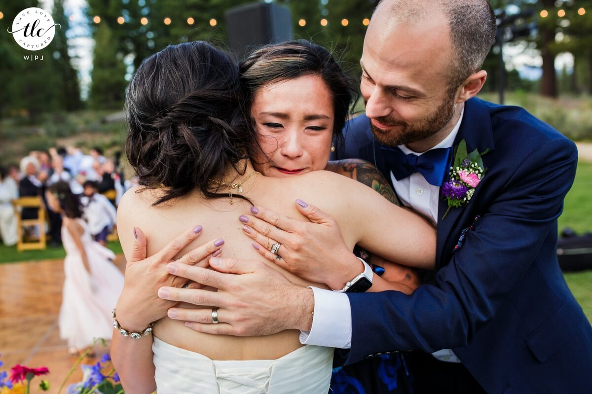 Quite often, the bride and groom's favorite Grays Crossing wedding photos are those that show the authentic emotion from their celebration.