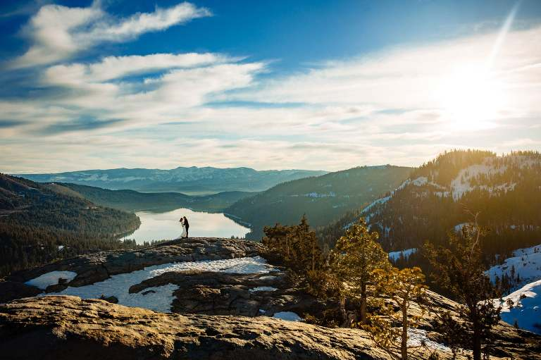 Lake Tahoe elopement photographers are in higher demand as small weddings are increasingly popular around the lake.