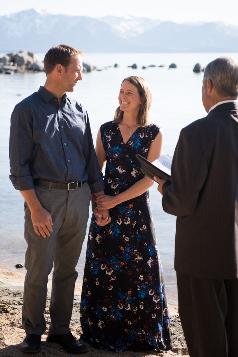A Lake Tahoe elopement is a perfect way to get married, even for someone who photographs other people's weddings.